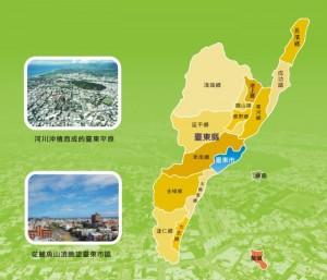 臺東縣臺東市map